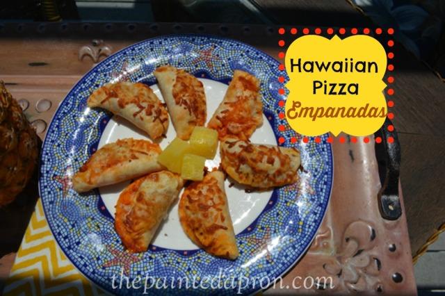 Hawaiian pizza empanadas thepaintedapron.com
