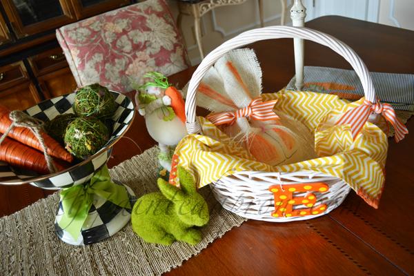 orange bunny basket thepaintedapron.com