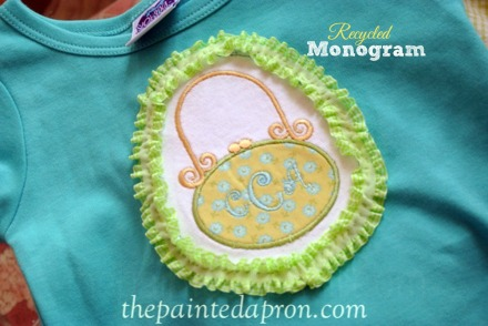 recycled monogram