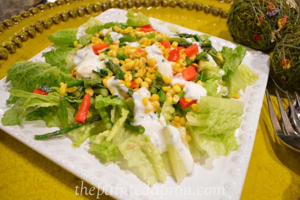 summer salad thepaintedapron.com