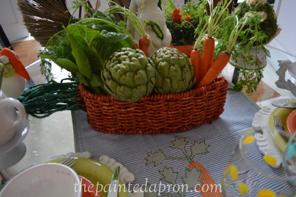 veggie centerpiece thepaintedapron.com