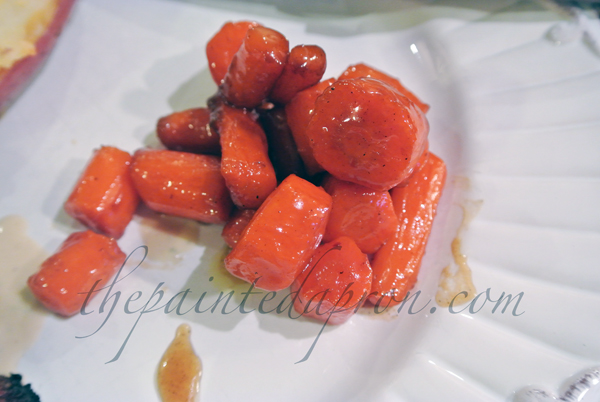 whiskey glazed carrots thepaintedapron.com