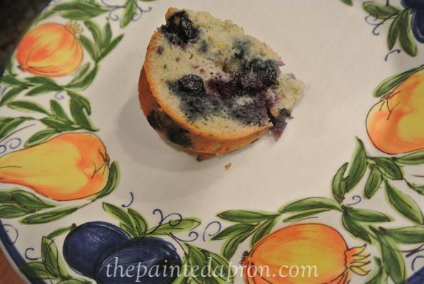 blueberry zucchini cake thepaintedapron.com