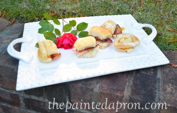 ham biscuits thepaintedapron.com