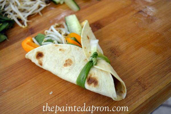 spring roll wrap thepaintedapron.com