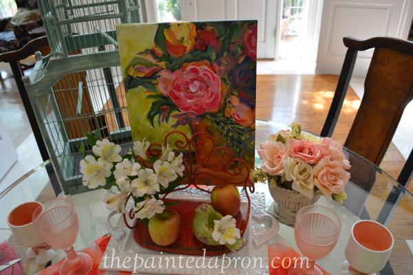 art garden table 4 thepaintedapron.com