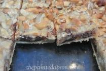 chocolate thepaintedapron.com cashew bars