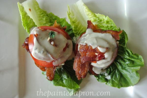 stacked tomato salad