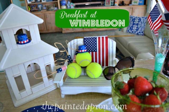 breakfast at Wimbledom