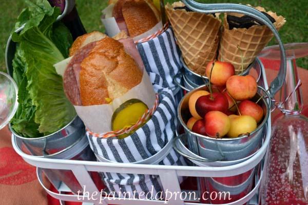 picnic for 2 thepaintedapron.com