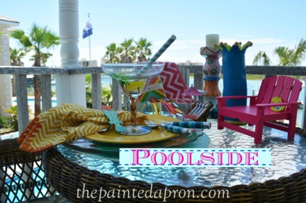 poolside 6 thepaintedapron.com