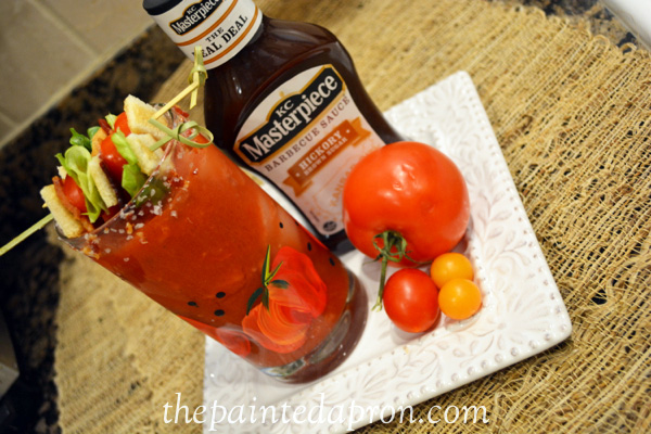 BBQ BLT bloody mary thepaintedapron.com