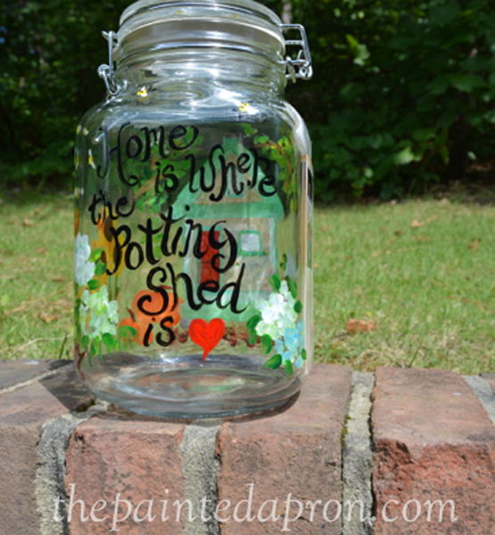 Mary's jar thepaintedapron.com