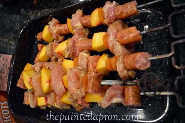 summer kebabs thepaintedapron.com