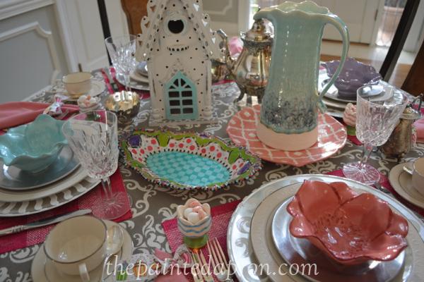 tea party 0 thepaintedapron.com
