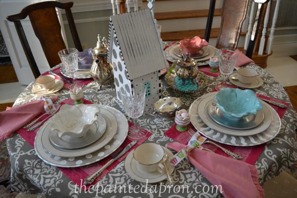 tea party 6 thepaintedapron.com