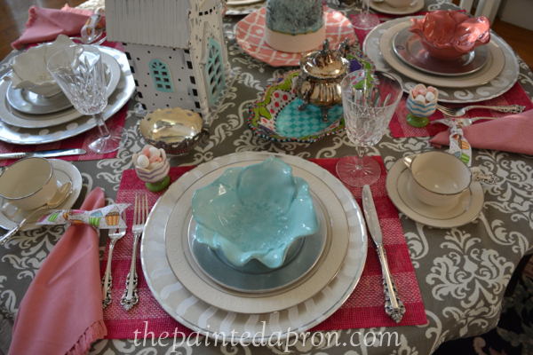 tea table thepaintedapron.com