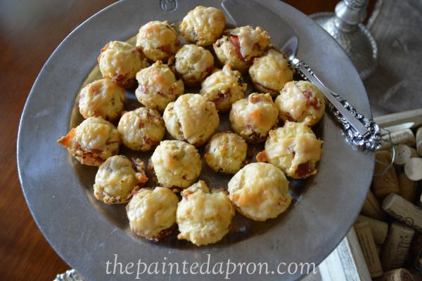 antipasto muffins thepaintedapron.com