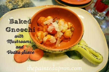baked gnocchi with vodka sauce thepaintedapron.com