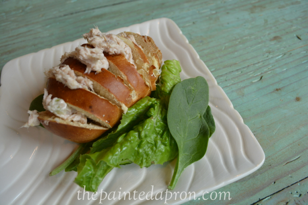 chicken salad roll thepaintedapron.com