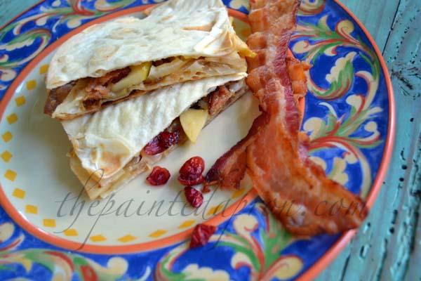 fall quesadilla thepaintedapron.com