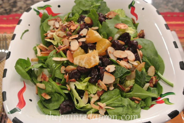 holiday salad thepaintedapron.com