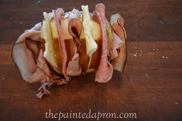 italian pesto roll thepaintedapron.com