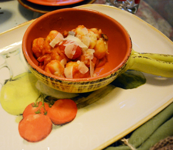 mushroom tomato gnocci thepaintedapron.com
