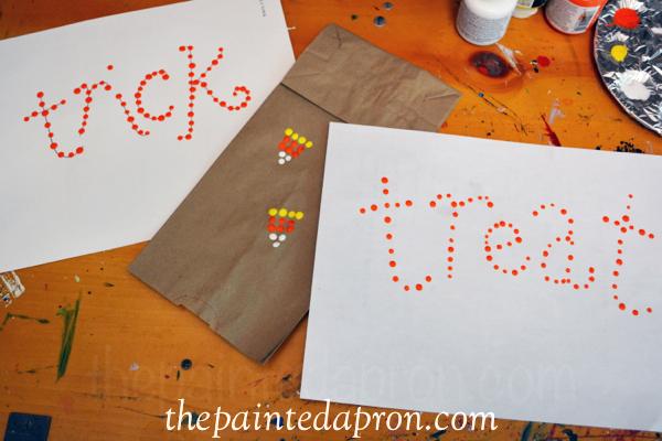 paint dots thepaintedapron.com