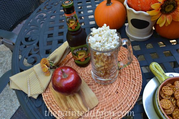 popcorn beer thepaintedapron.com