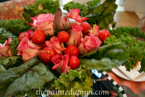 radishes and roses thepaintedapron.com