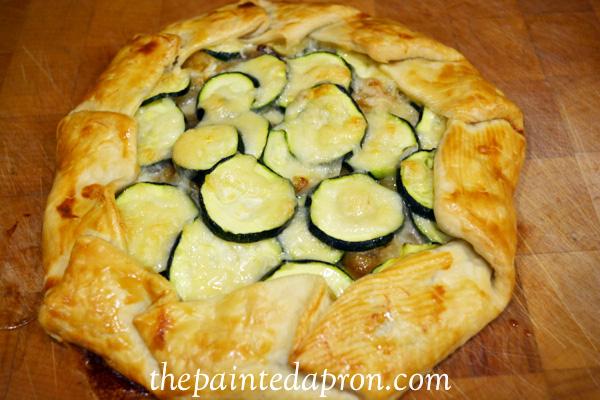 zucchini garlic & gruyere thepaintedapron.com