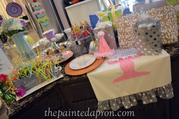 birthday buffet thepaintedapron.com