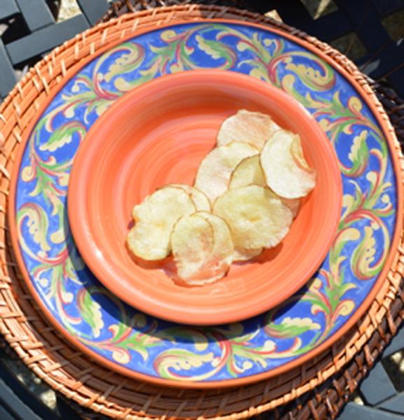 easy homemade chips thepaintedapron.com