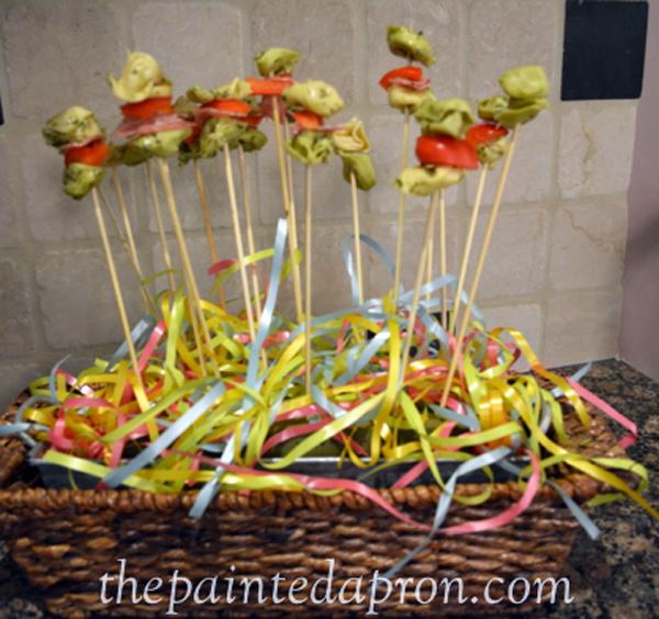 pasta lollipops thepaintedapron.com