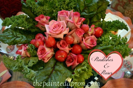 radishes and roses 2 thepaintedapron.com
