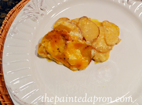 scalloped potatoes thepaintedapron,com