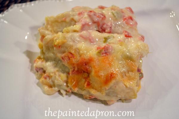 Spainish enchiladas 1 thepaintedapron.com