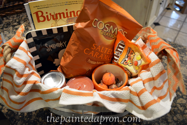 Treat basket thepaintedapron.com
