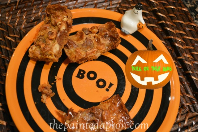 trick or treat bars thepaintedapron.com