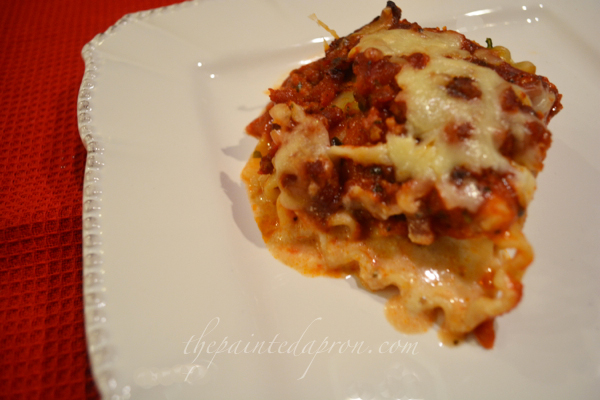 creamy lasagna rolls thepaintedapron.com