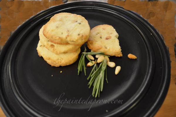 pine nut and rosemary sables thepaintedapron.com