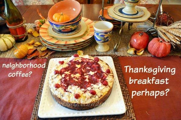 Almond And Raspberry Cake Bake Club