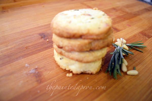 rosemary pinenut sables thepaintedapron.com 1