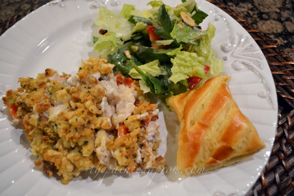 Thanksgiving casserole thepaintedapron.com