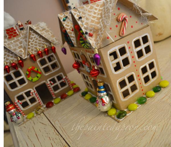xmas houses thepaintedapron.com