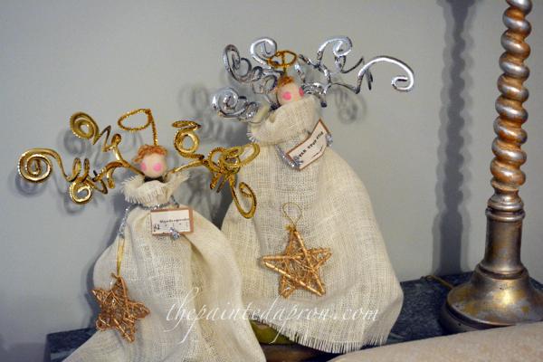 burlap angels thepaintedapron.com