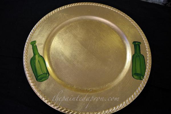 New Years plate 1 thepaintedapron.com