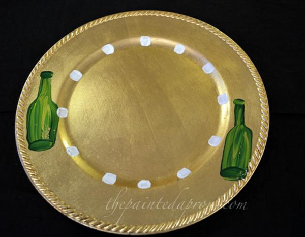 New Years plate 2 thepaintedapron.com