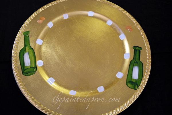 New Years plate 3 thepaintedapron.com